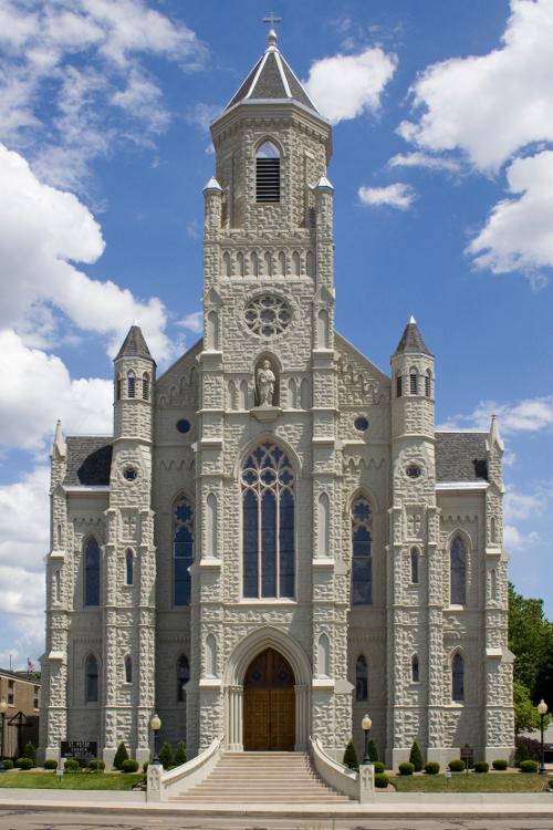 Reclad Church
